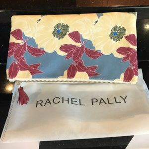 Adorable floral Rachel Pally reversible clutch
